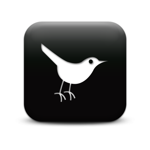 Black Twitter Icon Transparent